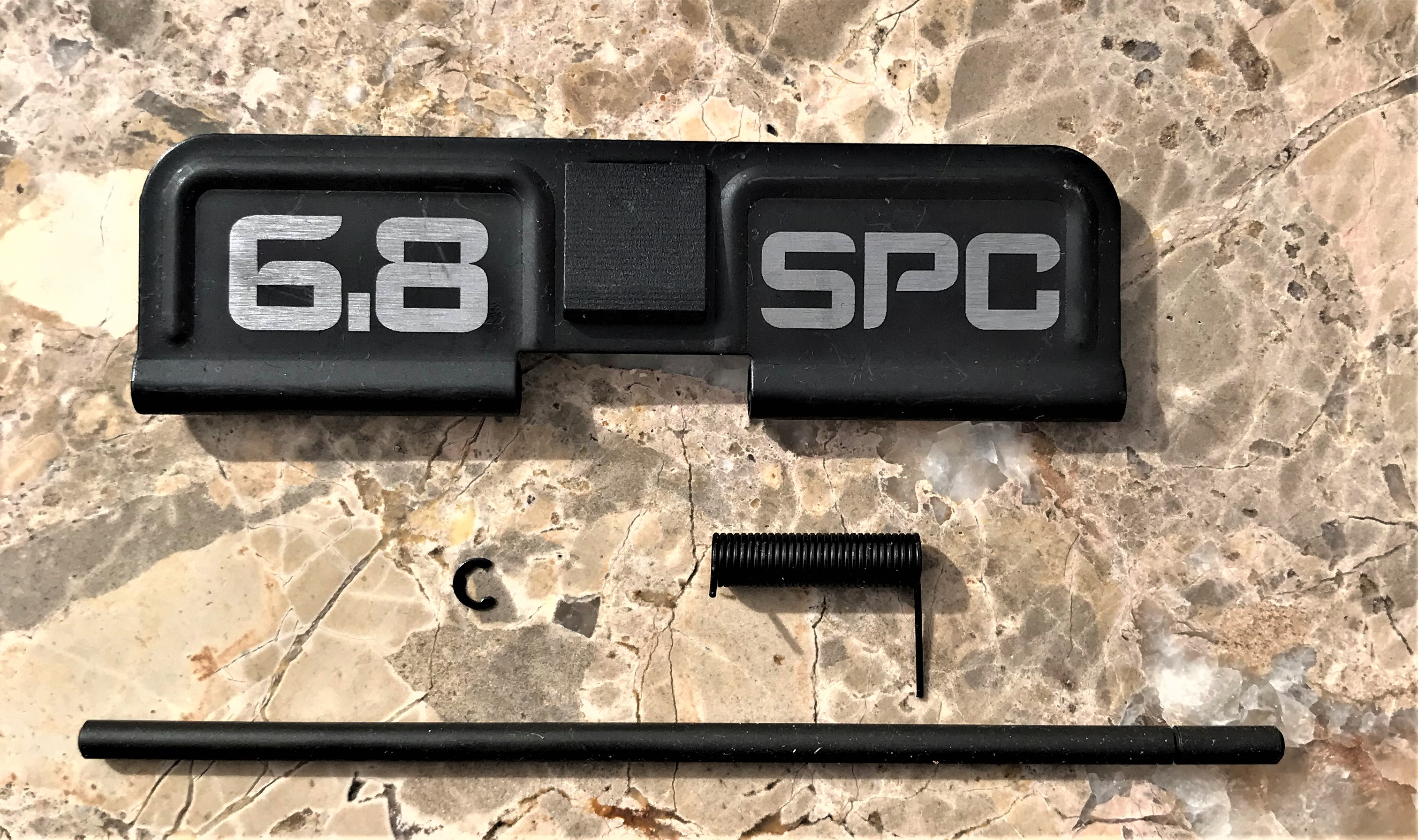 Custom AR 15 Ejection Port Cover 6.8 SPC