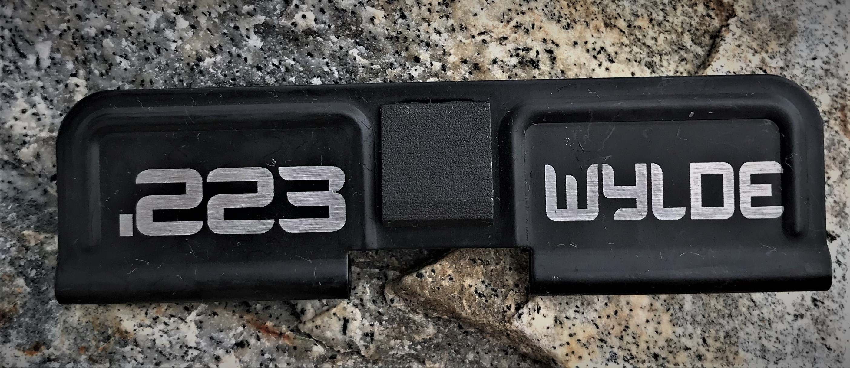 Custom AR 15 Ejection Port Cover .223 Wylde
