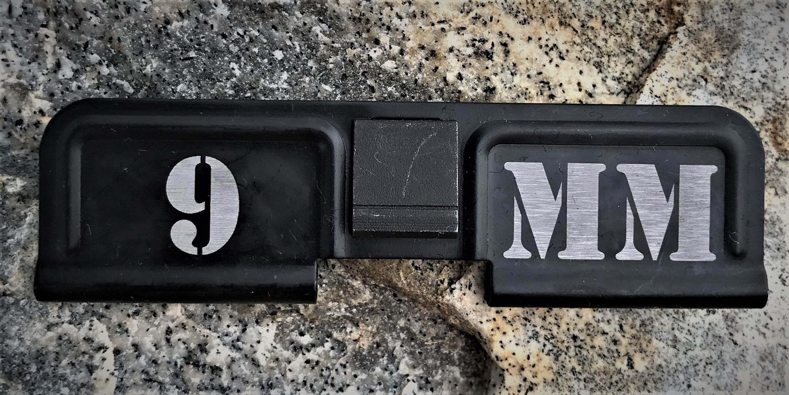 Custom AR 15 Ejection Port Cover 9mm