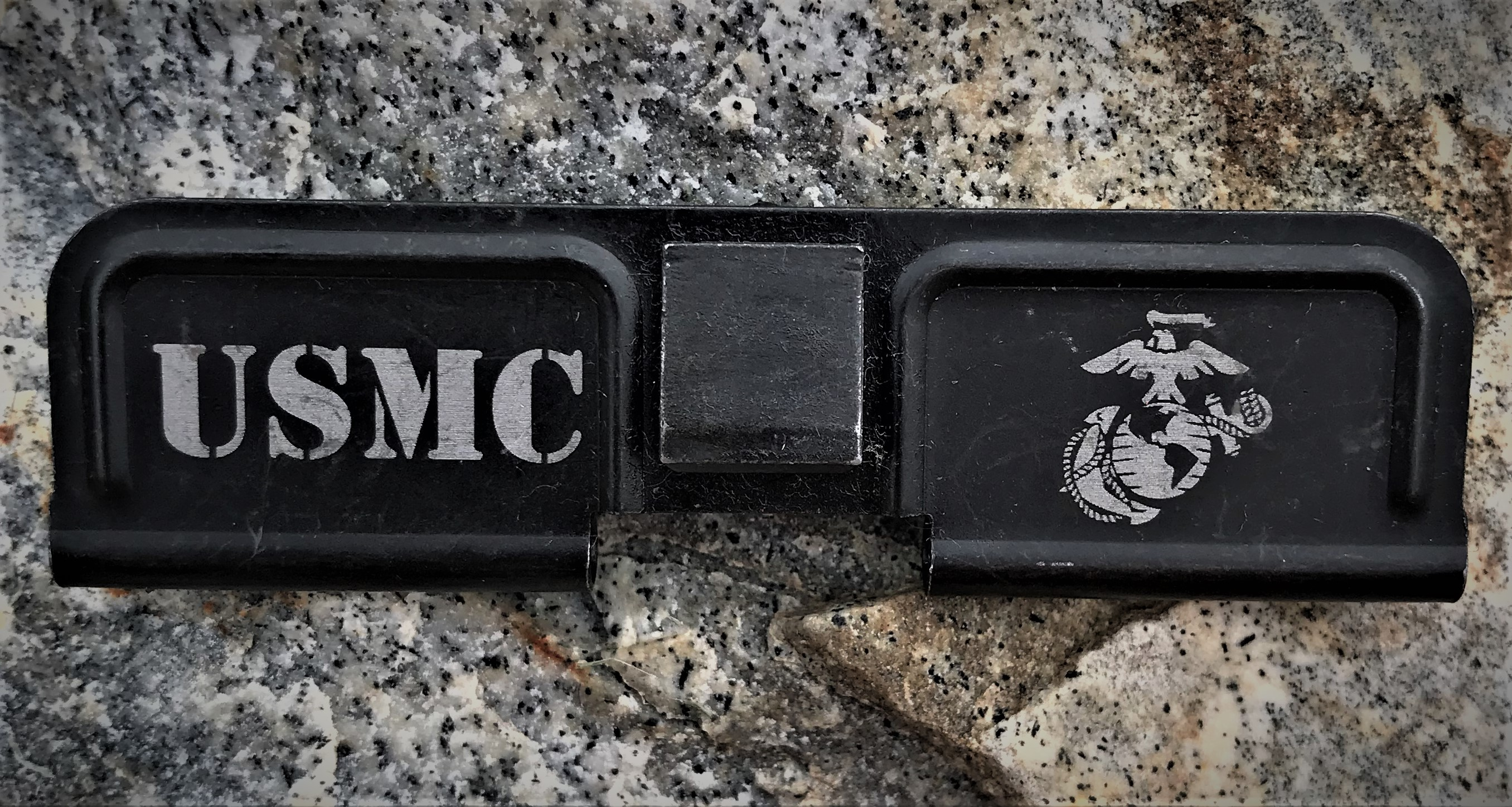 Custom AR 15 Ejection Port Cover Marine Corps