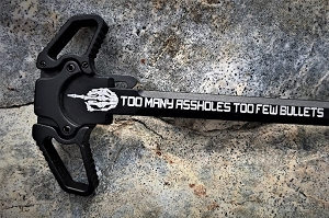 AR-10 Dual Ambidextrous Charging Handle-Too Many A$$ holes