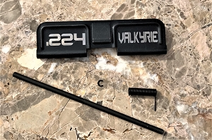 Custom AR 15 Ejection Port Cover .224 Valkyrie