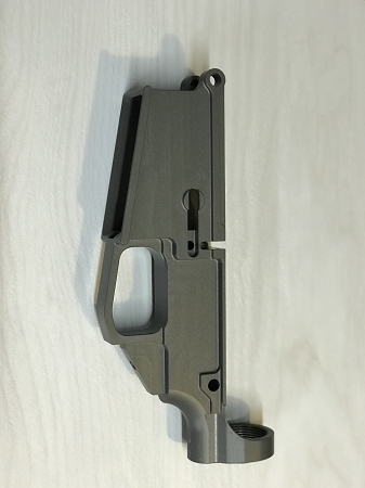 80% AR-10 Billet Anodized Grey Lower
