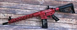 Custom 5.56 Harley Quinn AR-15 by 300 Arms Corp