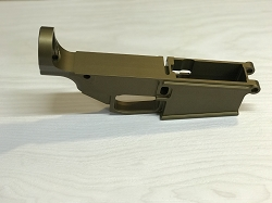 80% AR-10 Billet Anodized OD Green Lower