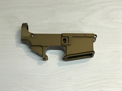 80% AR-15 Billet Anodized OD Green Lower