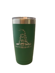 Polar Camel 20oz Green Don't Tread on Me