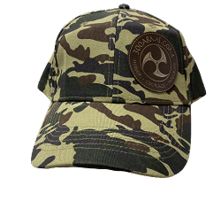 Logoed Green Camo Structured Hat