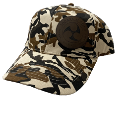 Logoed Brown Camo Structured Hat