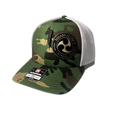 Logoed Green Camo Trucker Hat