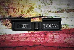 "Custom Laser Engraved ""Not Today"" Ejection Port Cover"