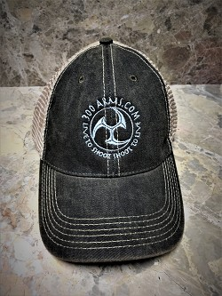 300 Arms Corp Trucker Hat-Black