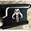 80% Black Billet Mandalorian AR-15 Lower